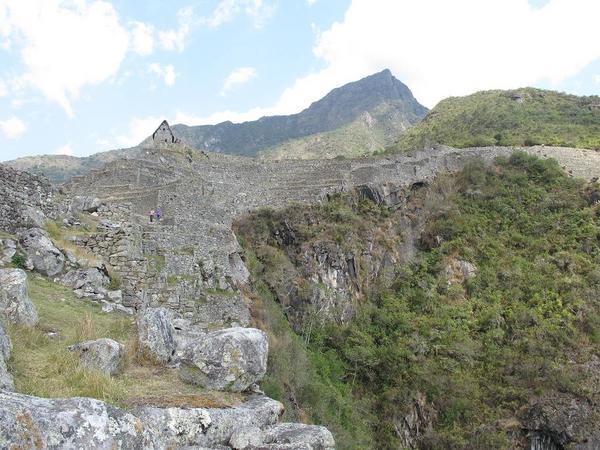 石積みはほとんど段々畑