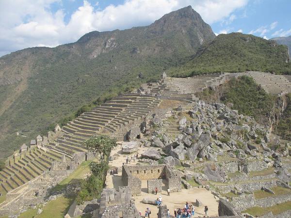 インカは石の文明